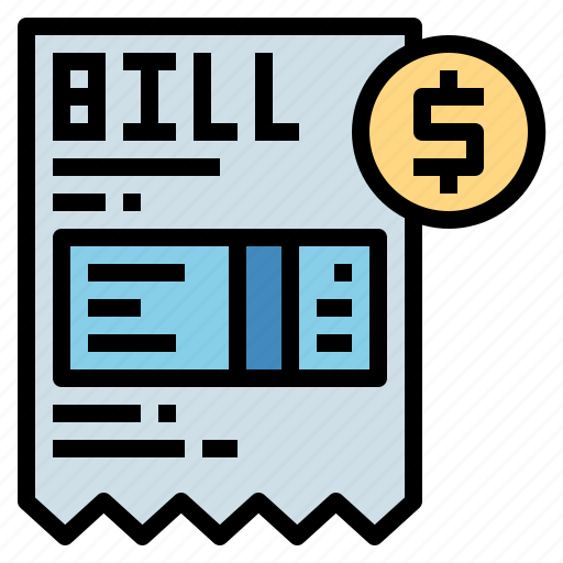 Bill, invoice, payment, receipt icon - Download on Iconfinder