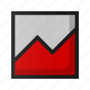 ad, analysis, analytics, black friday, diagram, graph, sale icon