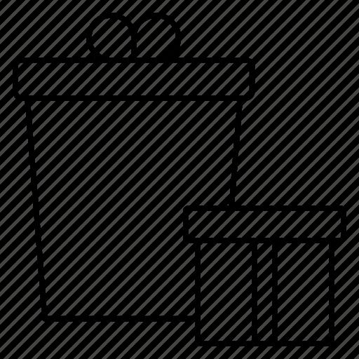 box, gift, present, sale, surprise icon