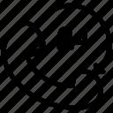black friday, cyber, digital, internet, marketing, monday, nonstop icon