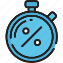black friday, cyber monday, discount, sales, stopwatch, timer icon