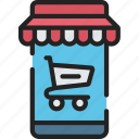 black friday, cyber monday, mobile, sales, shop, store icon