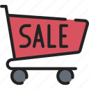 black friday, cyber monday, sale, sales, shopping, trolly icon