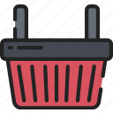 basket, black friday, cyber monday, sales, shopping icon