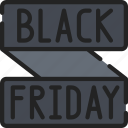 banner, black friday, cyber monday, discount, friday, sales icon