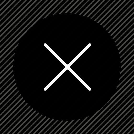 bin, cancel, close, delete, minus, remove, trash icon