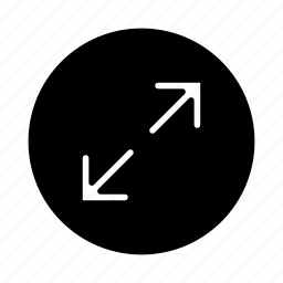 arrow, arrows, expand, full, fullscreen, maximize, resize icon