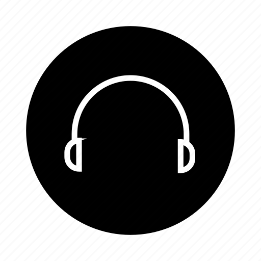 audio, earphone, earphones, headphone, headphones, headset, listen icon