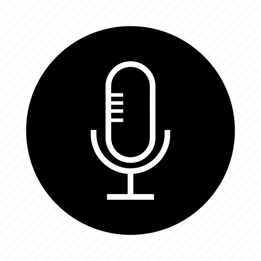 mic, microphone, music, record, sound, speaker, volume icon