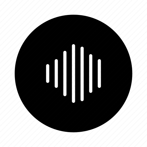 audio, mic, microphone, play, record, soundwave, wave icon