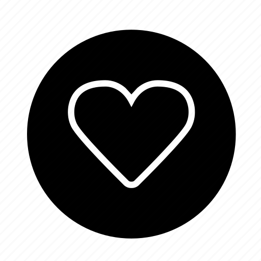 bookmark, button, fav, favorite, heart, like, love, round, web icon