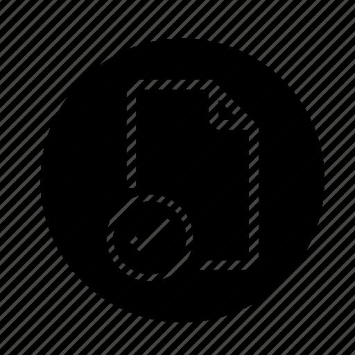 document, document created, document ready, images, ok, ready, round, status, web icon