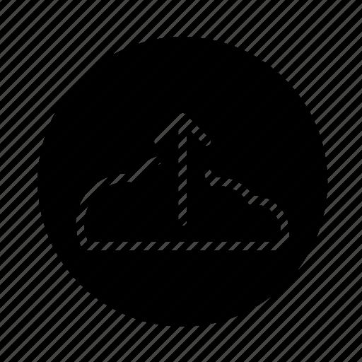 arrow, cloud, cloud upload, round, upload, web icon