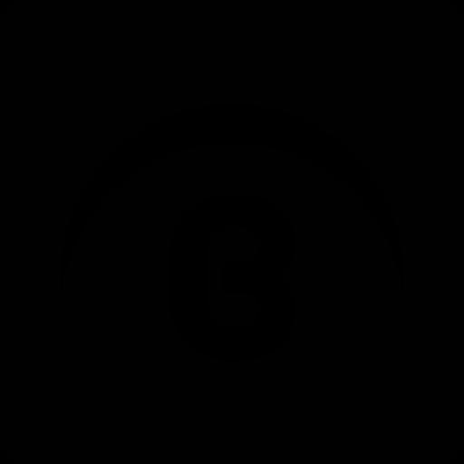 black planet icon
