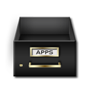 applications, drawer icon