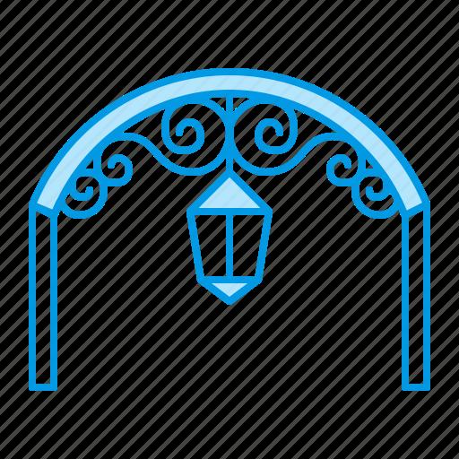 antique, awning, blacksmith, metal icon