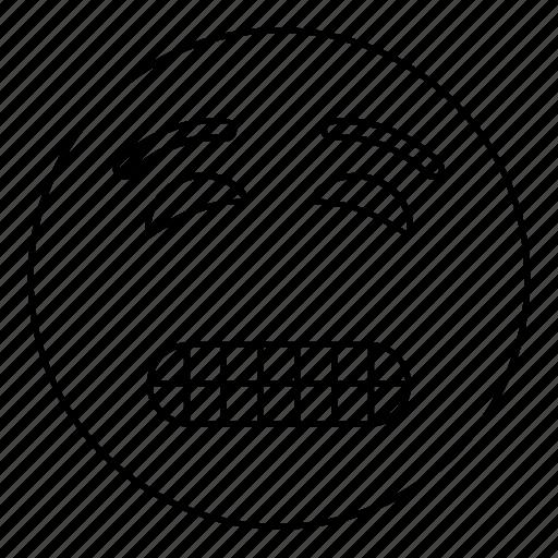emoji, emoticon, face, feeling, smiley icon