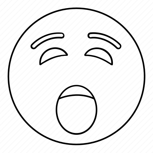 emoji, emoticon, face, open, scream, smiley, yell icon