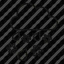 air, blizzard, swirl, tornado, twist, whirl, whirlwind icon