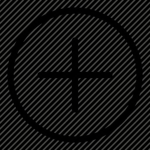 add, add circle, circle, circle icon, plus icon