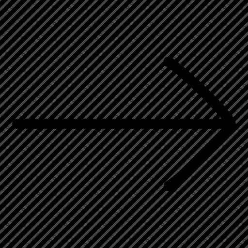 arrow, arrow right, right icon