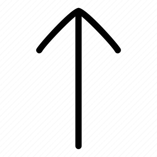 arrow, arrow up, up, upload icon