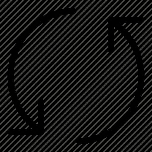 circle icon, redo, refresh, reload, sync, synchronize icon