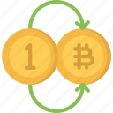 bitcoin, cryptocurrency, finance, for, money, pay icon