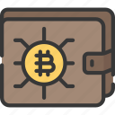 block, chain, crypto, cryptocurrency, wallet icon