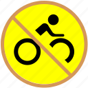 bicycle, bike, block icon