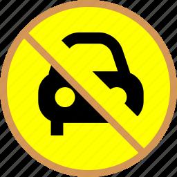 block, block park, block pass, car icon