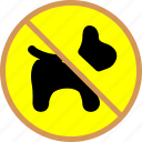 block, block pets, no pets, pets icon