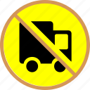 block, block truck icon