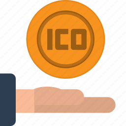 bitcoin, blockchain, cryptocurrency, currency, fintech, ico, technology icon