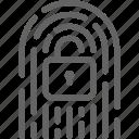 blockchain, cryptocurrency, digital, fingerprint, key, lock, network