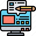 content, computer, writing, website, article