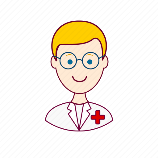 .svg, blonde man, enfermeiro, european man, job, nurse, profession, professional, profissão icon