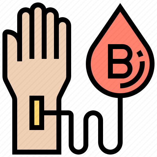 blood, donation, group, testing, type icon