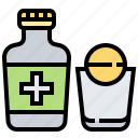 drug, healthcare, medical, pharmacy, tonic icon