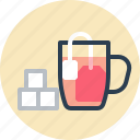cup, sugar, sweet, tea icon