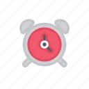 alarm, bloomies, clock, interface, wakeup icon