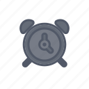 alarm, bloomies, clock, dark, interface, wakeup icon