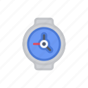 bloomies, clock, interface, time, watch, wristwatch icon