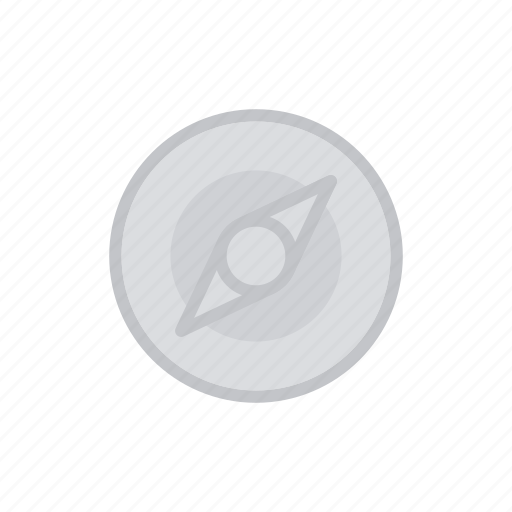 bloomies, compass, directions, inactive, interface, nagitation, north icon
