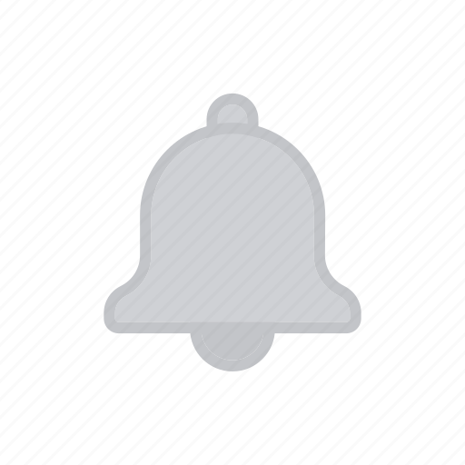 bell, bloomies, inactive, interface, notifications icon