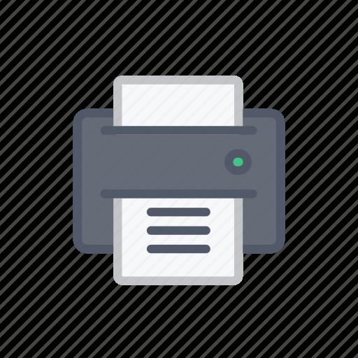 Interface, print, bloomies, printer icon