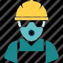 flat, man, repair, service, tool, work, worker icon