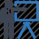 analysis, board, presentation