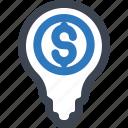 bubble, business, idea, money, solution