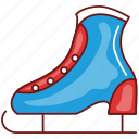boot, christmas, footwear, shoe, shoes, ski, xmas icon